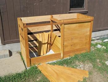Osage-orange Compost Bin